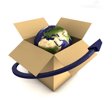 Woodys Express Parcels deliver worldwide